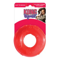 Kong Squeezz žiedas su cypsiuku šunims