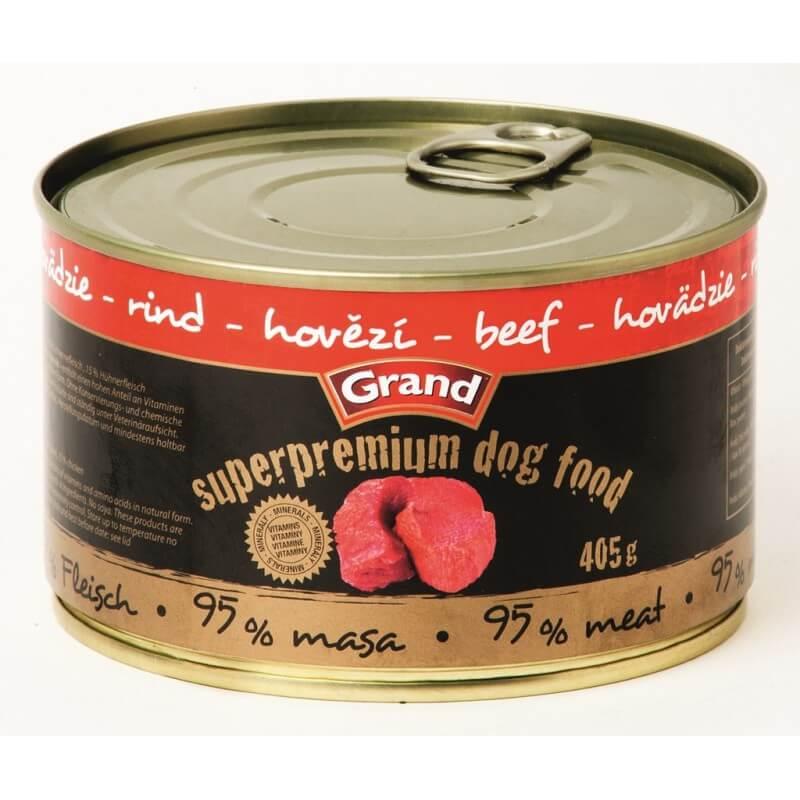 Grand Super Premium Beef konservai šunims