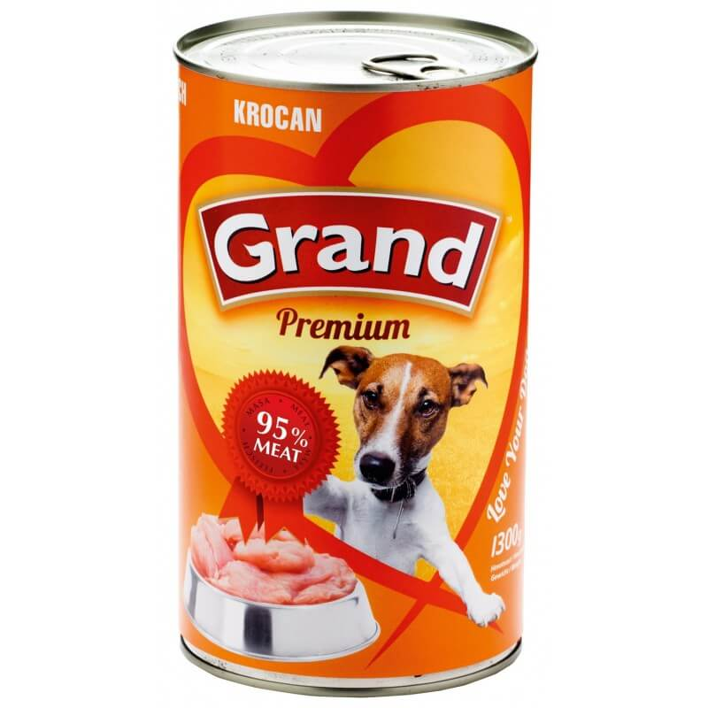 Grand Premium Turkey konservai šunims