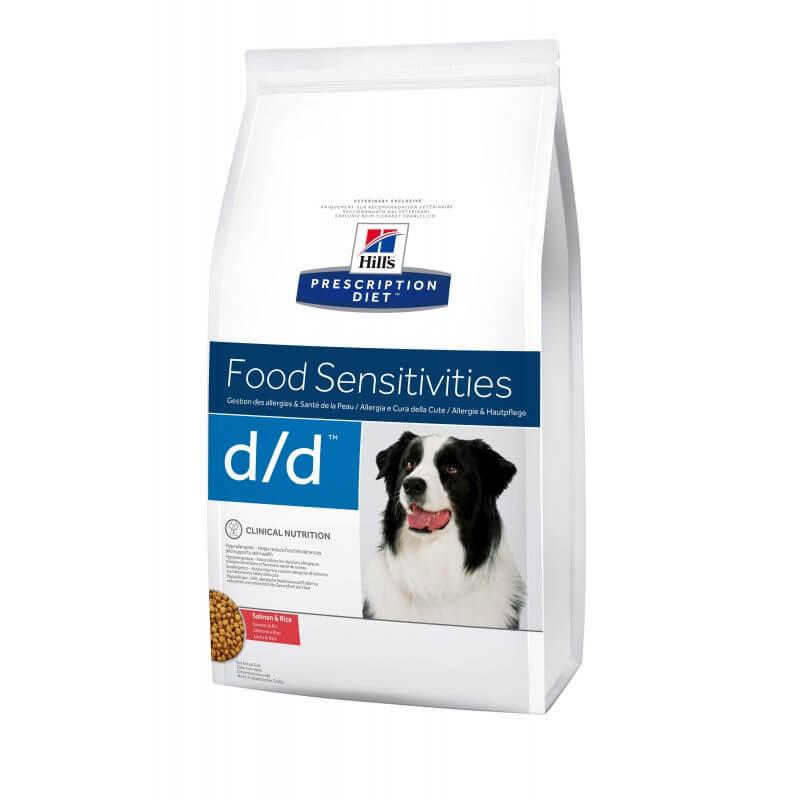 Hill's PD Canine d/d Salmon & Rice sausas maistas šunims
