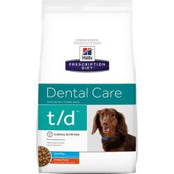 Hill's PD Canine t/d Mini sausas maistas mažų veislių šunims