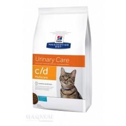 Hill's PD Feline c/d Ocean Fish sausas maistas katėms