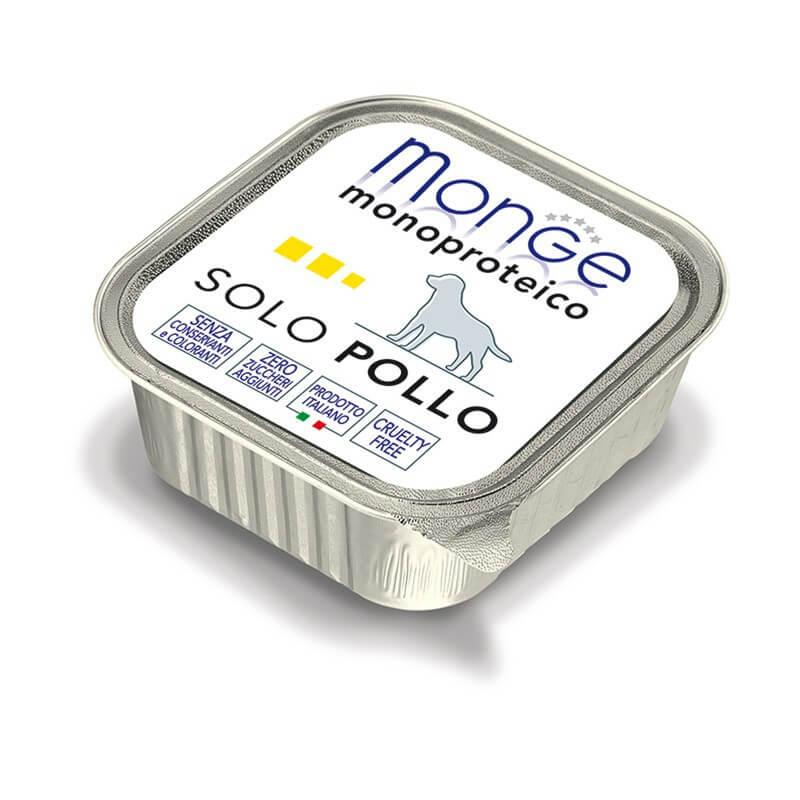 Monge Monoproteico konservai su vištiena šunims