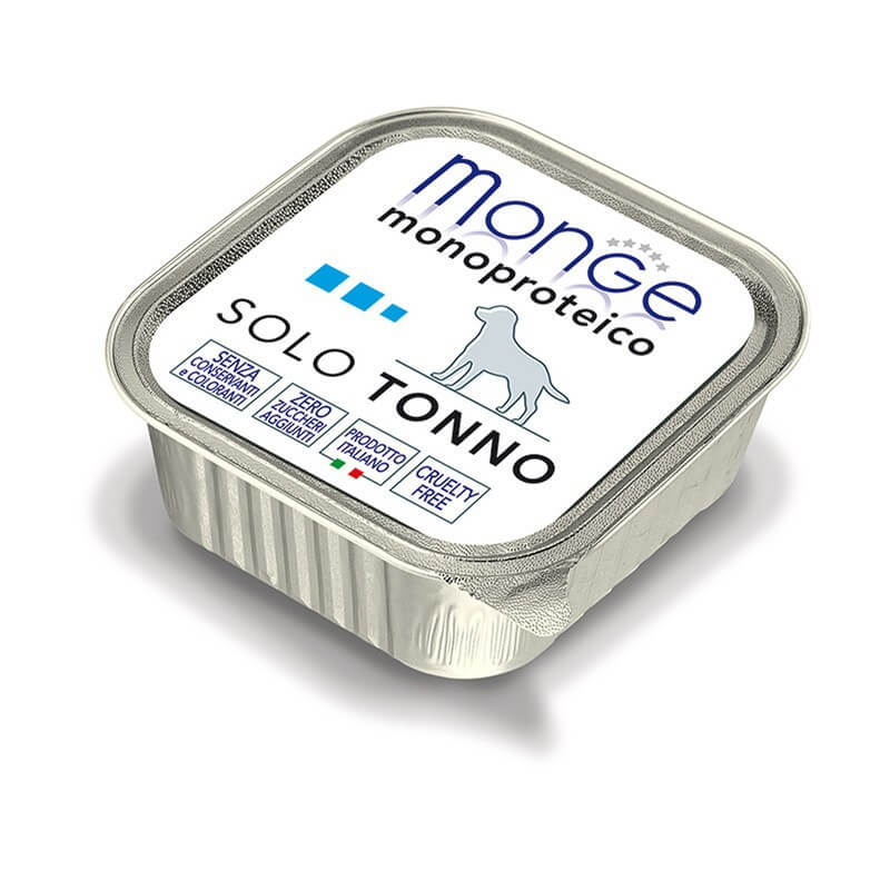 Monge Monoproteico konservai su tunu šunims