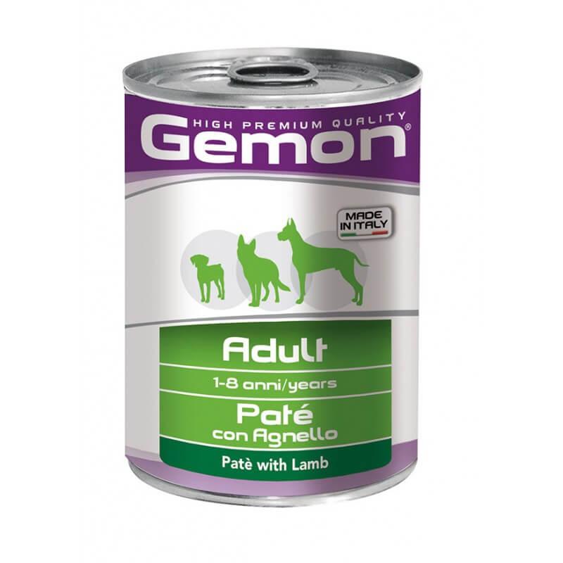 Gemon Adult paštetas su ėriena suaugusiems šunims