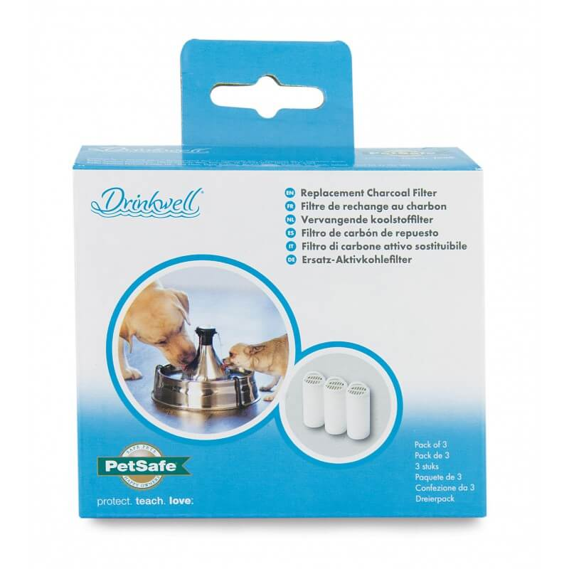 PetSafe anglies filtras Drinkwell nerūdijančio plieno girdyklai