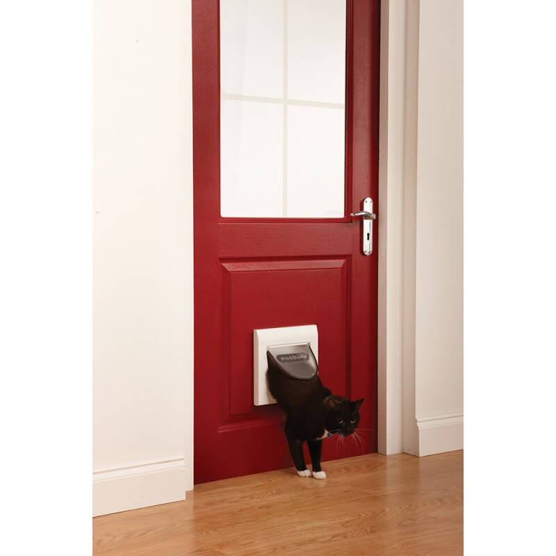PetSafe durelės su keturių padėčių magnetinių užraktu katėms