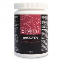 Oliver's Omegacaps papildai odai ir kailiui