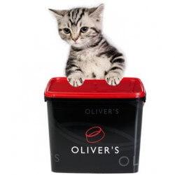 Oliver's Kitten Classic sausas maistas su vištiena kačiukams ir
