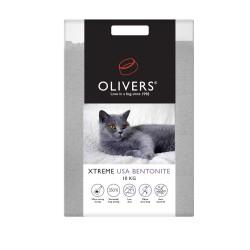 Oliver's XTREME USA Bentonite kraikas katėms