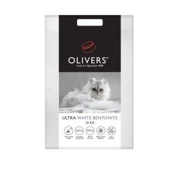 Oliver's Ultra White ekologiškas molio kraikas katėms