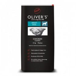 Oliver's Chicken Classic Medium sausas maistas šunims