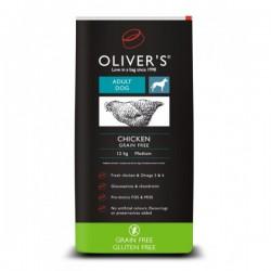 Oliver's Chicken Grain Free Small sausas maistas su vištiena