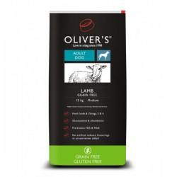 Oliver's Lamb Grain Free Small sausas maistas su ėriena šunims