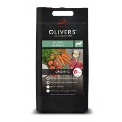 Oliver's Organic All Ages Medium ekologiškas maistas šunims