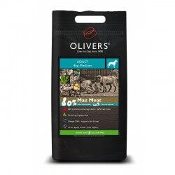 Oliver's Max Meat Adult Grain Free sausas maistas šunims