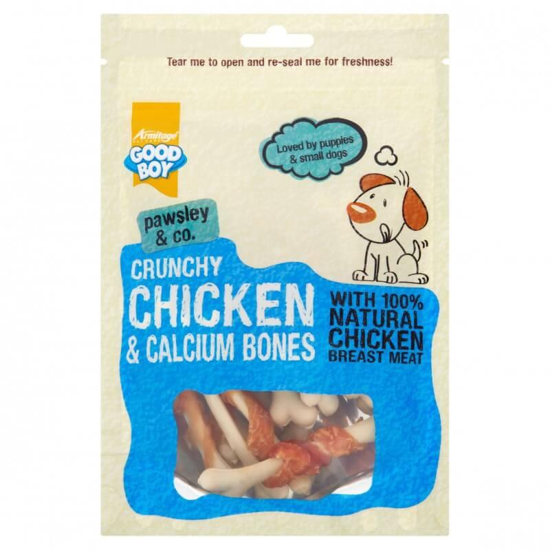 Armitage chicken & calcium bones skanėstai šunims