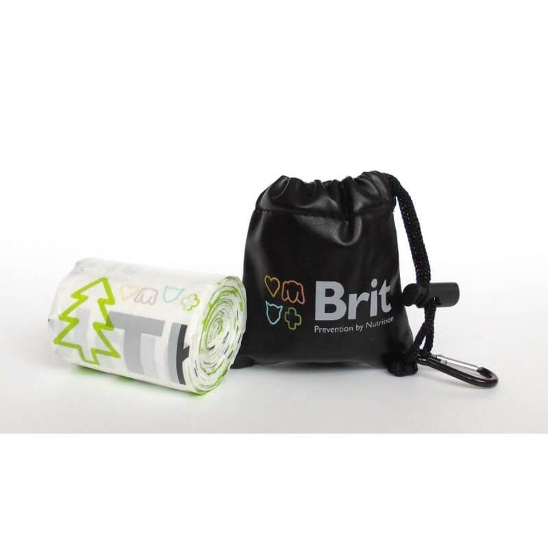 Brit maišelių dėklas su maišeliais ekskrementams
