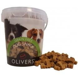 Oliver's Grain Free Duck Soft Snack antienos skanėstas šunims