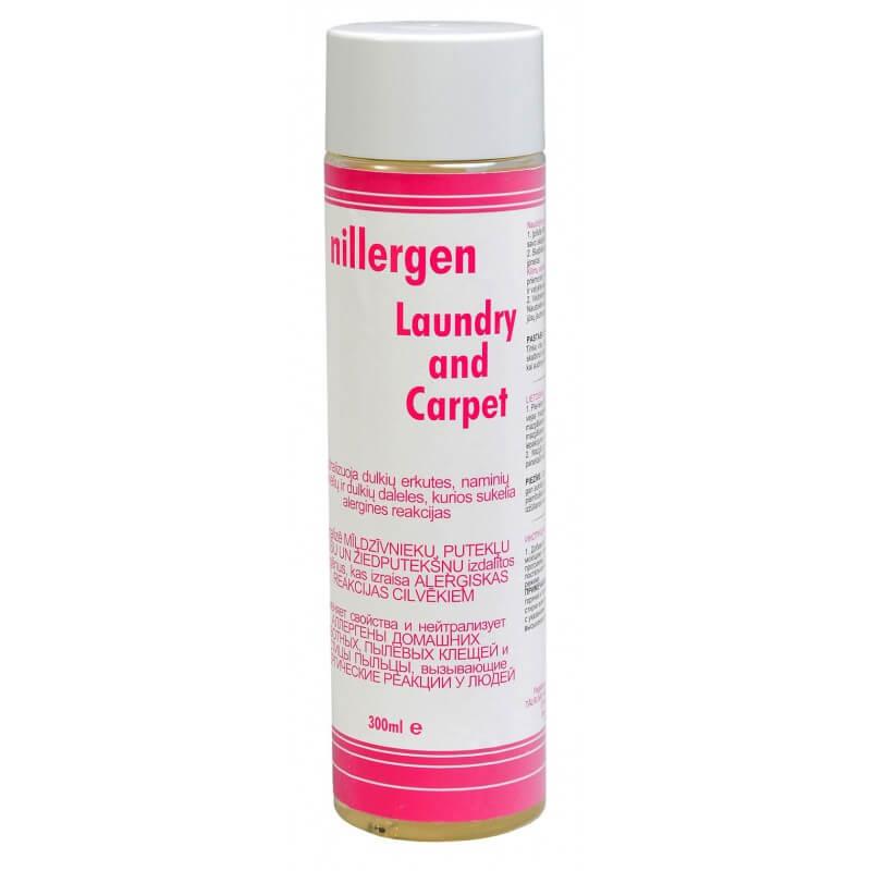 Nillergen Loundry and Carpet apsauga nuo alergijos