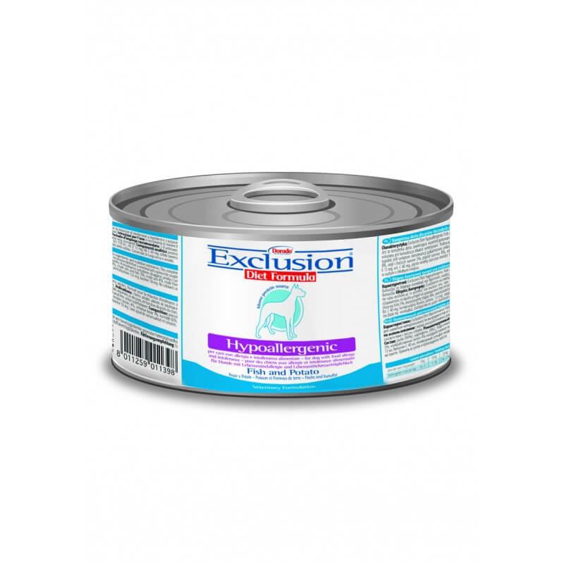 Exclusion Diet konservai su žuvimi šunims