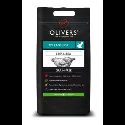 Oliver's Sterilized Grain Free sausas maistas sterilizuotoms katėms