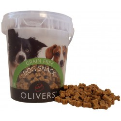 Oliver's Mini Training Bites Grain Free Chicken skanėstai šunims