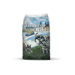Taste of the Wild Pacific Stream Puppy sausas maistas šuniukams