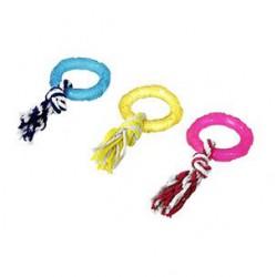 Karlie Flamingo žiedas su virve šunims