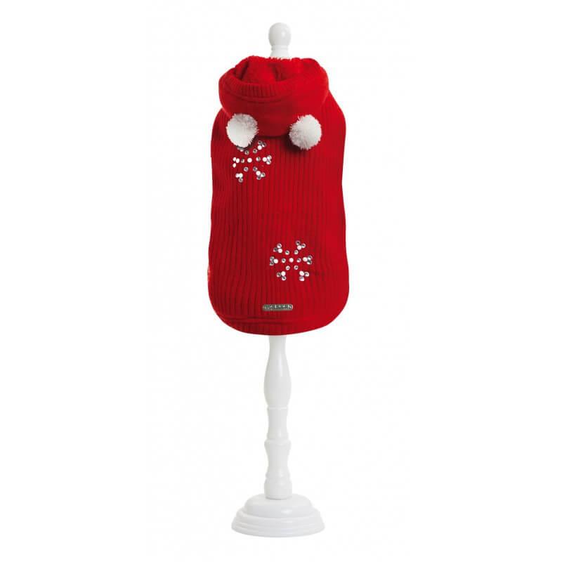 Croci Lovely dovey red megztinis šunims