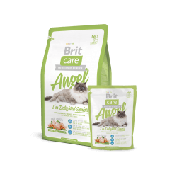 Brit Care Cat Angel I'm Delighted Senior sausas maistas katėms