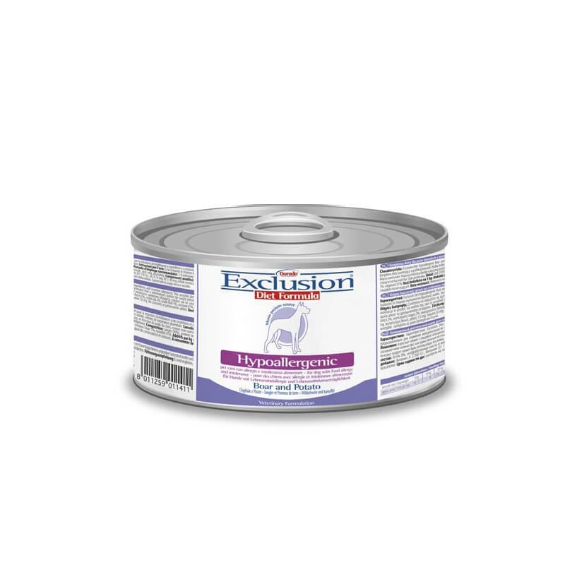 Exclusion Diet konservai su šerniena šunims