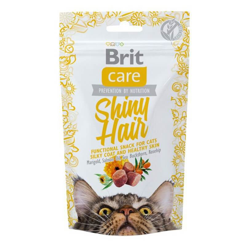 Brit Care Cat Shiny Hair skanėstai katėms