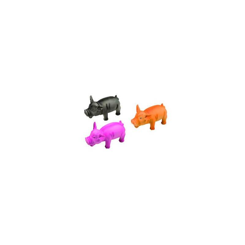 Flamingo lateksinė kiaulė žaislas šunims