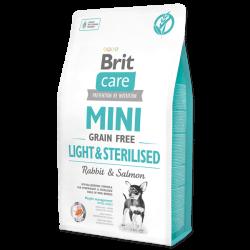 Brit Care Mini Light & Sterilised sausas maistas šunims