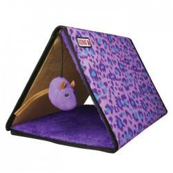 Kong trikampis žaidimų kilimėlis katėms