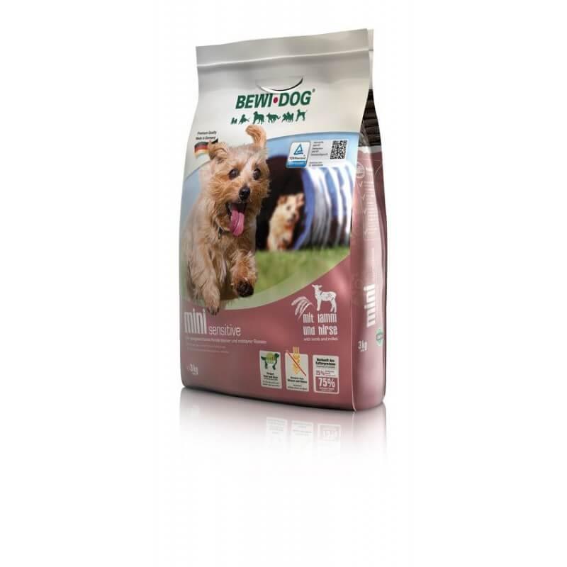 Bewi Dog Mini Sensitive sausas maistas mažų ir vidutinių veislių šunims su ėriena
