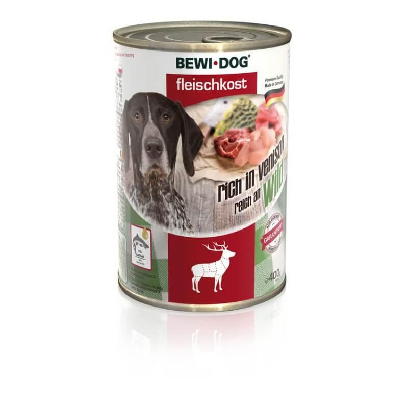 Bewi Dog Venison konservai su elniena šunims