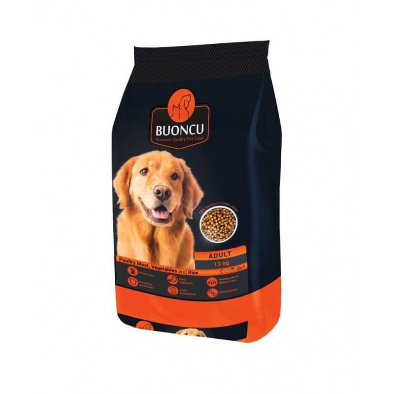 BUONCU Adult poultry meat sausas maistas vidutinių ir didelių veislių šunims