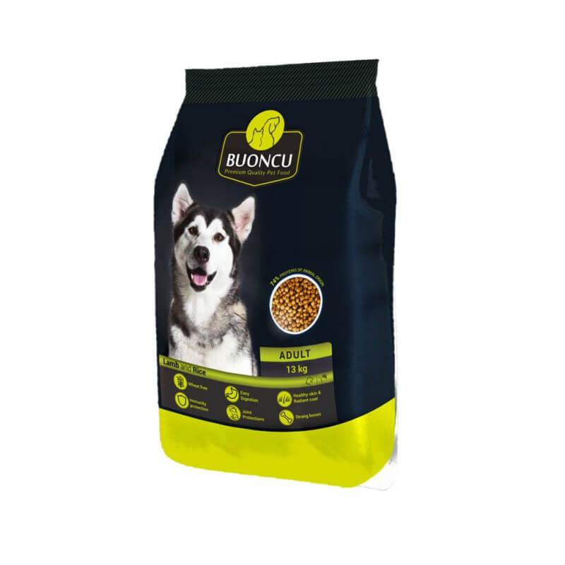 Buoncu Adult Lamb and rice sausas maistas vidutinių ir didelių veislių šunims