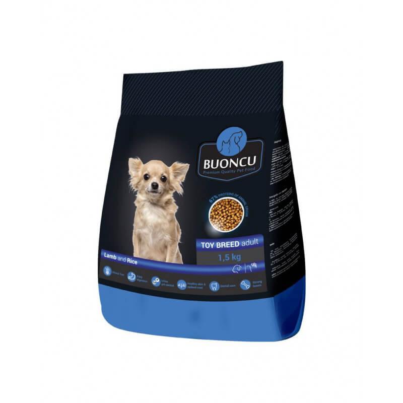 Buoncu Toy breed Adult lamb and rise sausas maistas ypač mažų veislių šunims