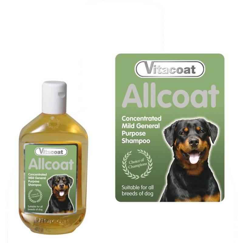 Vitacoat Allcoat šampūnas visų veislių šunims
