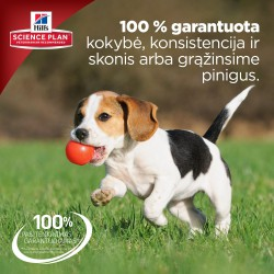 Hill's Science Plan Canine Puppy Healthy Development Large Breed Chicken sausas maistas šuniukams