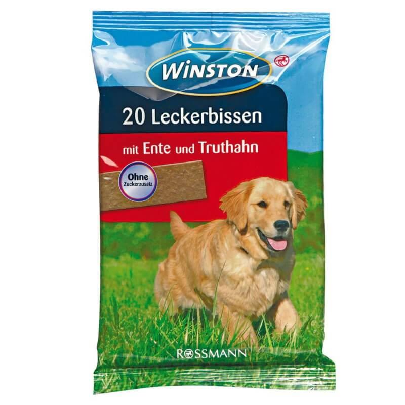 Winston skanėstai plokštelės su antiena ir kalakutiena šunims