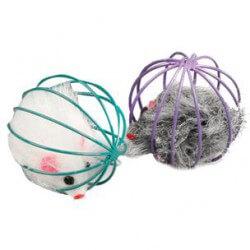 Flamingo žaislas – mįslė katėms