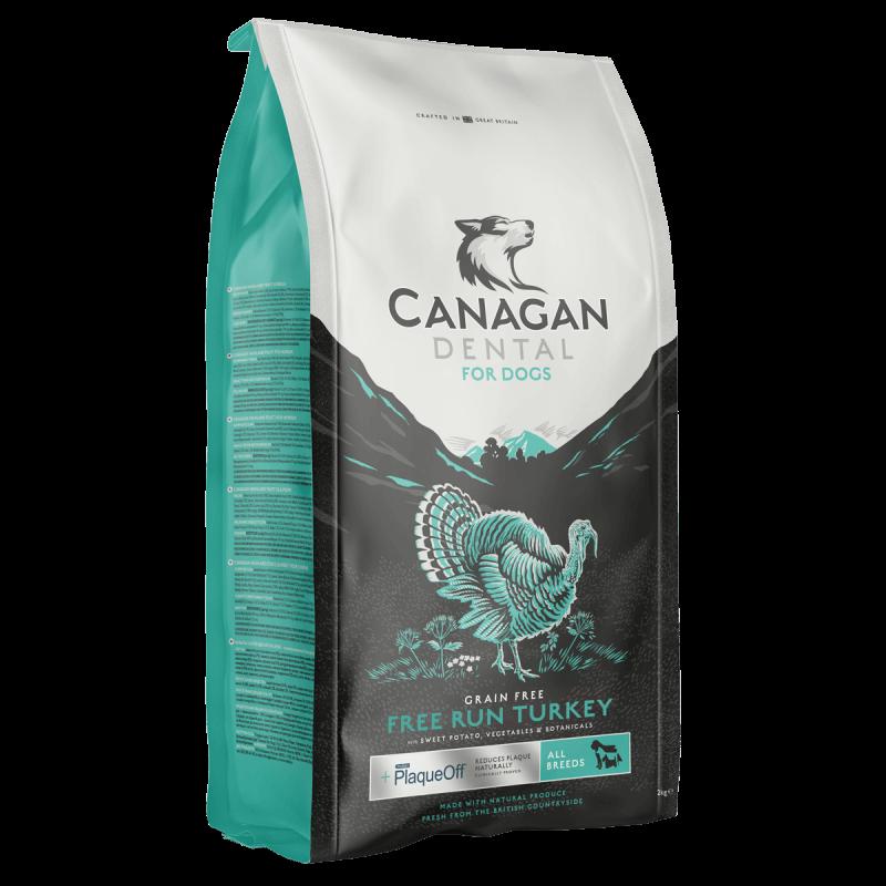 Canagan Free Run Turkey Dental sausas maistas su kalakutiena šunims