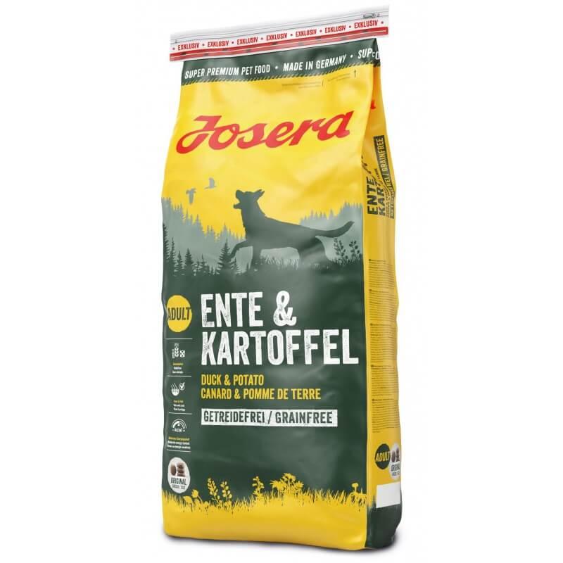 Josera Duck & Potato begrūdis sausas maistas šunims