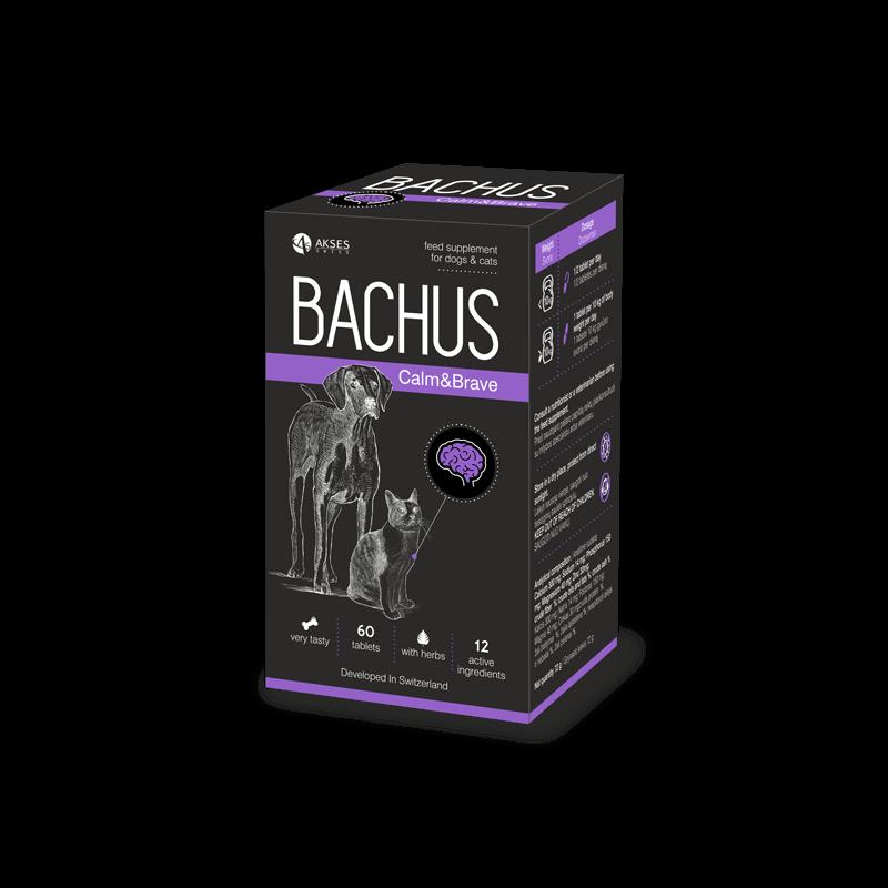 Bachus papildai natūraliam nervų sistemos stiprinimui ir žalingo streso poveikio mažinimui šunims ir katėms