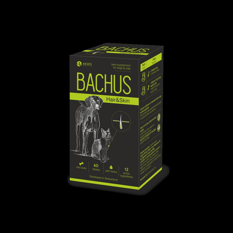 Bachus papildai odos ir kailio struktūros stiprinimui šunims ir katėms