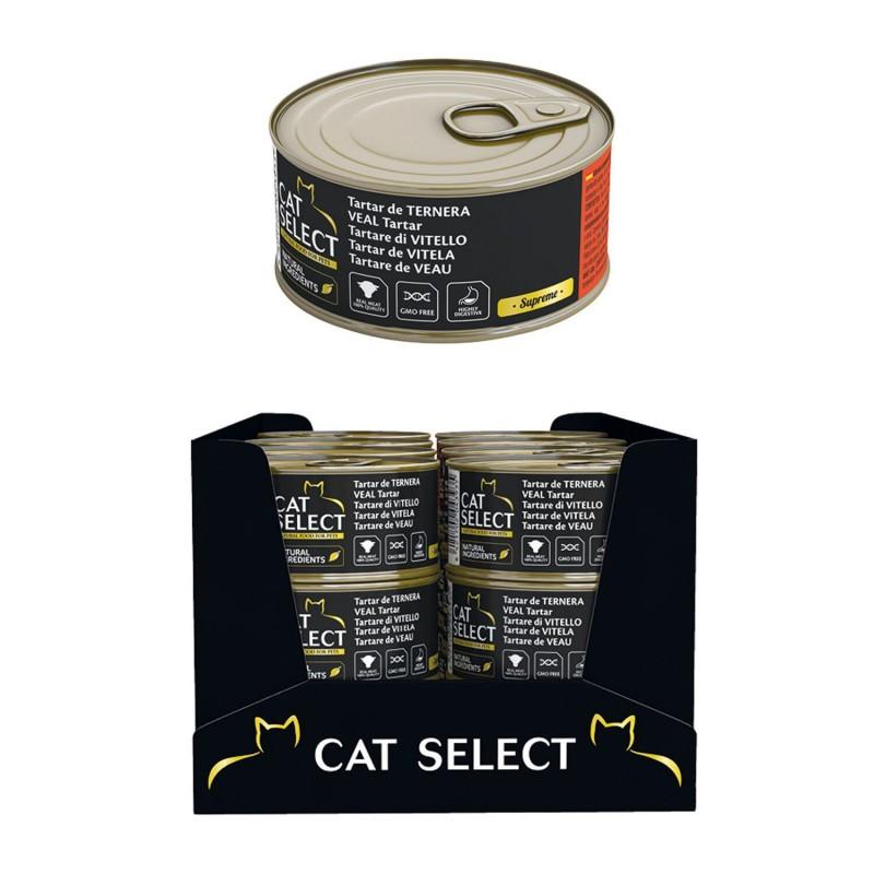 Cat Select konservai su veršiena katėms